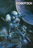 Blue Battlepods Wallscroll 32x46