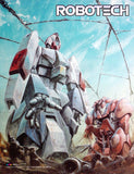 Hovertank vs Bioroid Wallscroll 32x41