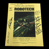 Robotech Commemorative Script Book (SIGNED)