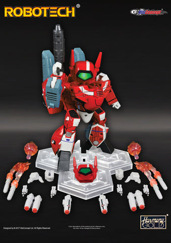 Super Deformed Miriya VF-1J WITH FASTPACK!