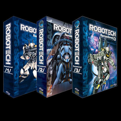 Robotech Remastered Macross Saga DVD Set