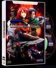 ROBOTECH: The Shadow Chronicles 2-disc Collector's Edition DVD
