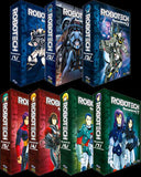 Robotech Remastered Complete Series (no extras) + toys