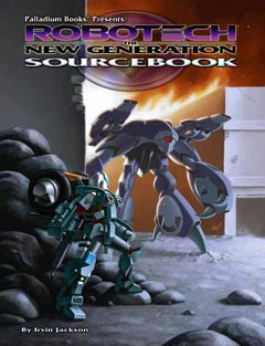 ROBOTECH: The New Generation RPG Sourcebook Paperback