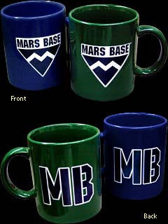 Mars Base Coffee Mug Set