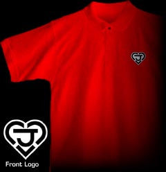 "ROBOTECH ""New Generation"" Polo Shirt Red"