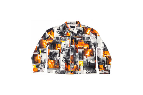 JG SZN 1 All-Over Print Denim Jacket