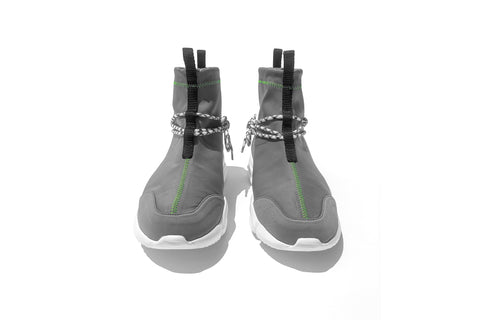 002 by John Geiger 'Grey/Lime' Euro Exclusive