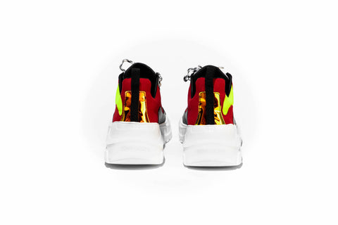 003 by John Geiger 'Red/Volt/White/Black'