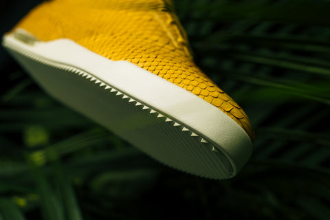 001 by John Geiger Matte Yellow Python