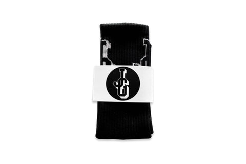 JG Logo Socks Black/White