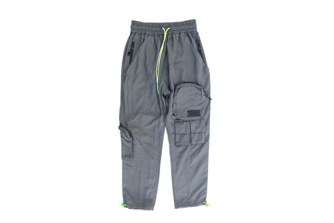 JG SZN 2 Pocket Pants 'Grey/Lime'