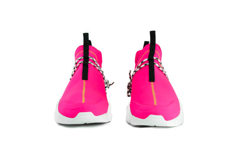 "002 Low By John Geiger Pink/Lime ""Highlighter"""