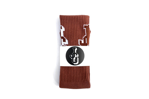 JG Logo Socks 'Copper'