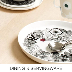 Dining and servingware