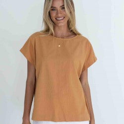 HUMIDITY LIFESTYLE Lexi Cotton Top
