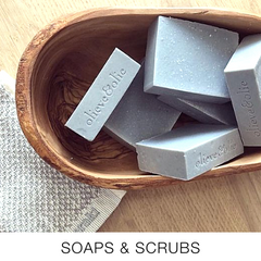 Soaps and scrubs