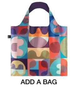 Artistic gift bags and tote bags
