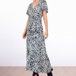 WE ARE THE OTHERS Panel Detail Maxi Dress
