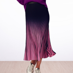 WE ARE THE OTHERS Sunray Ombre Midi Skirt