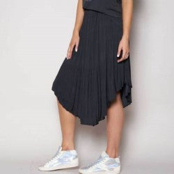 We Are The Others Black Pleated Skirt