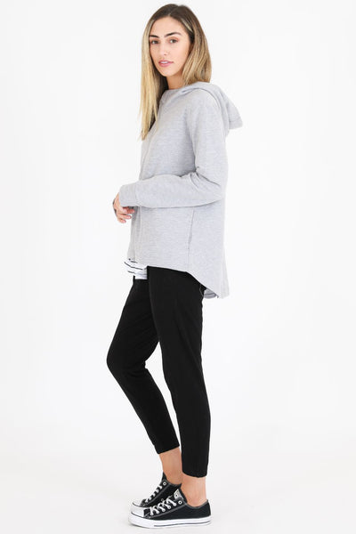 3RD STORY Santa Monica Jacket - Grey Marle Jacket - Zabecca Living