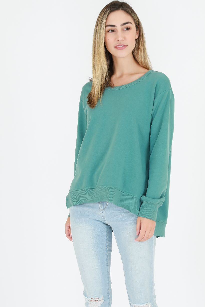 3RD STORY Ulverstone Sweater - Sea Green Sweaters - Zabecca Living