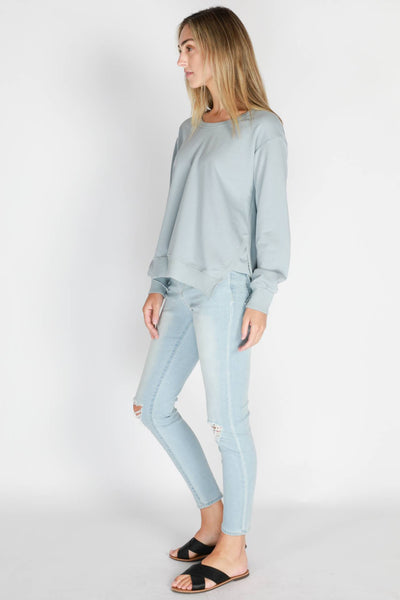3RD STORY Ulverstone Sweater - Storm Blue Sweaters - Zabecca Living