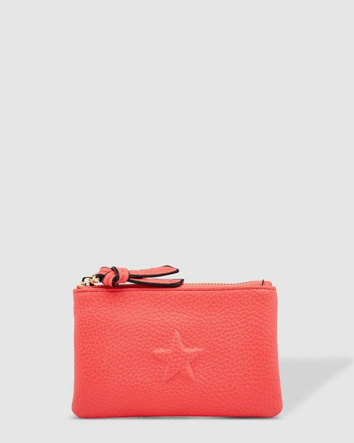 LOUENHIDE Star Purse - Melon WALLET - Zabecca Living