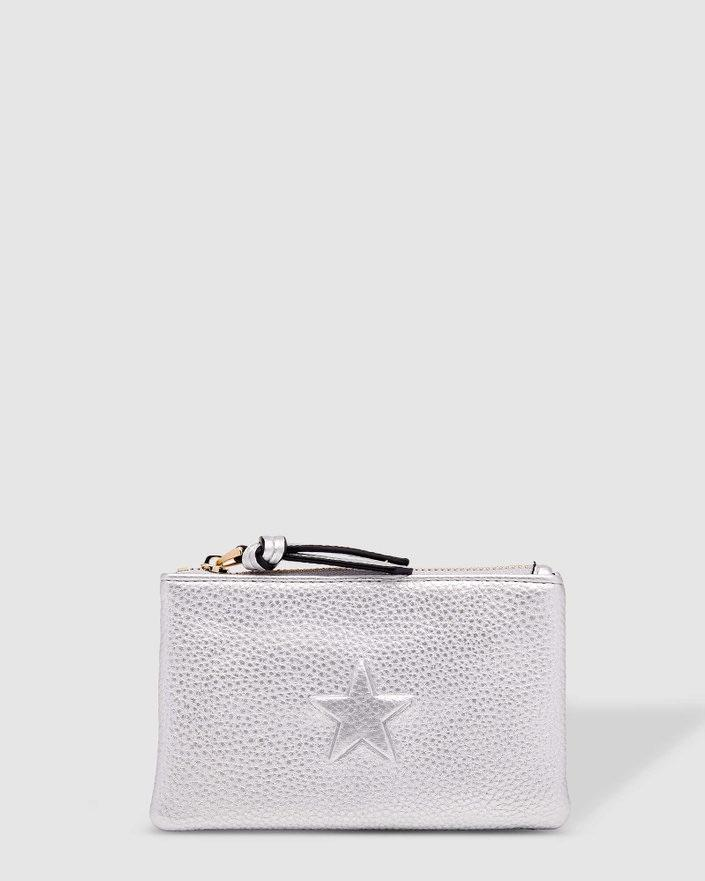 LOUENHIDE Star Purse - Silver WALLET - Zabecca Living