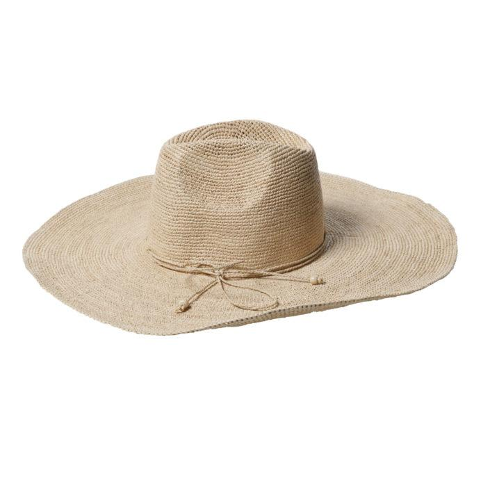MADE IN MADA Aziz Hat HAT NATURAL - Zabecca Living