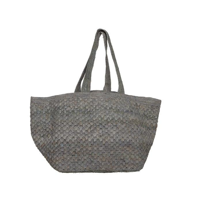 MADE IN MADA Joy Bag - Light Grey bag - Zabecca Living