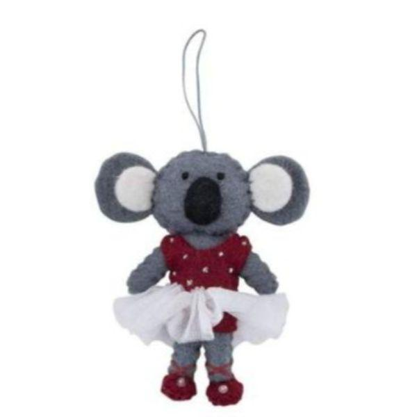 PASHOM Koala in Tutu - Pink FESTIVE DECORATIONS - Zabecca Living