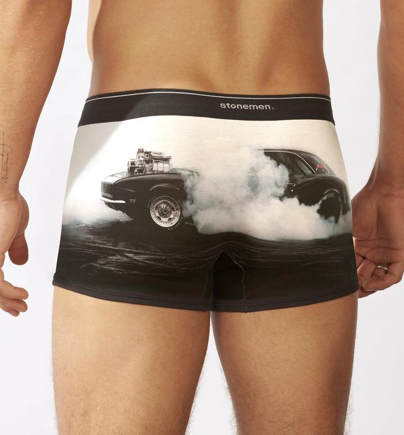 STONEMEN Boxer Brief - Burnout MENS UNDERWEAR - Zabecca Living