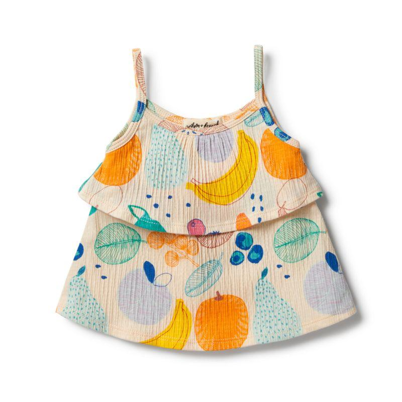 WILSON & FRENCHY Fruit Loop Ruffle Tank BABY CLOTHING - Zabecca Living