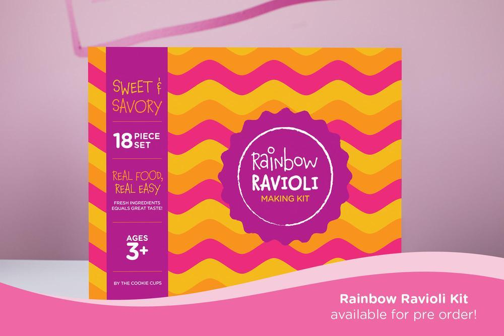 Get Cooking With Our Rainbow Ravioli Making Kit!