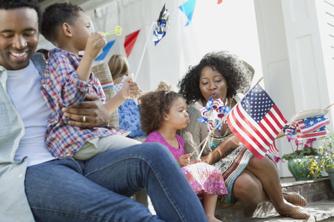 4th of july at home