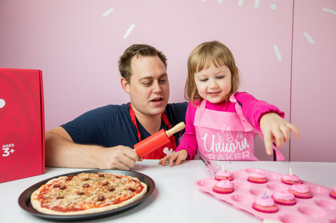 father's day activity baking kit