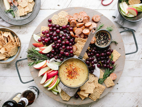 ladies night at home appetizer platter