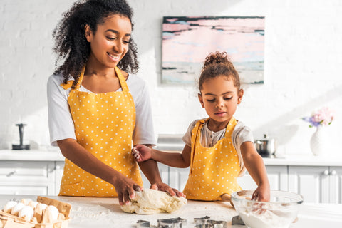 parent-child baking activities