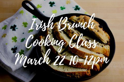 Irish Brunch Cooking Class