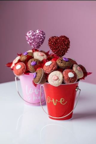 Cookie Cup Bucket Bouquet