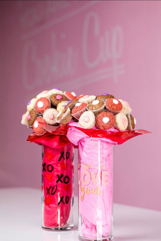 Cookie Cup Glass Bouquet