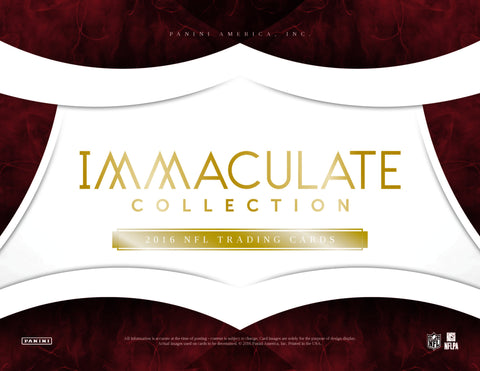 2016 Panini Immaculate Football 6 Box Full Case PYT #3 LOW LOW PRICES!