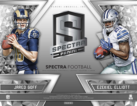 2016 Panini Spectra Football 8 Box Full Case PYT #6 LOW LOW PRICES!