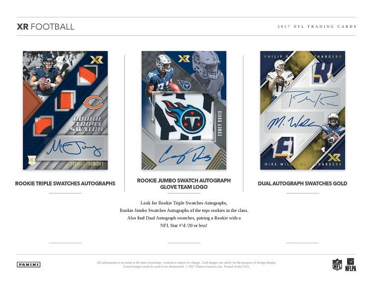 2017 PANINI XR FOOTBALL NFL FULL 15 BOX CASE BREAK PYT #2