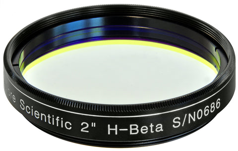 "Explore Scientific H-Beta Narrowband Filter - 2"" - 310230 for $192.00 at Khan Scope Centre"