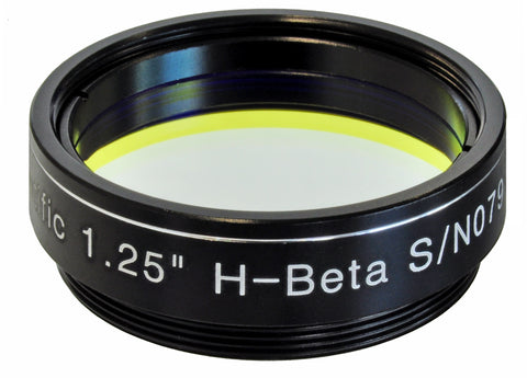 "Explore Scientific H-Beta Narrowband Filter - 1.25""- 310235 for $134.00 at Khan Scope Centre"