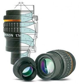 "Baader 17mm Hyperion Modular Eyepiece - 1.25""/ 2"" - HYP-17 for $197.00 at Khan Scope Centre"