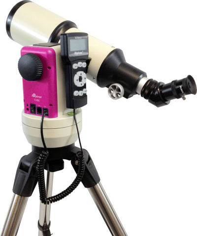 iOptron Cube-E R80 - 80mm GoTo Refractor Telescope - Pink - 8502R for $387.76 at Khan Scope Centre